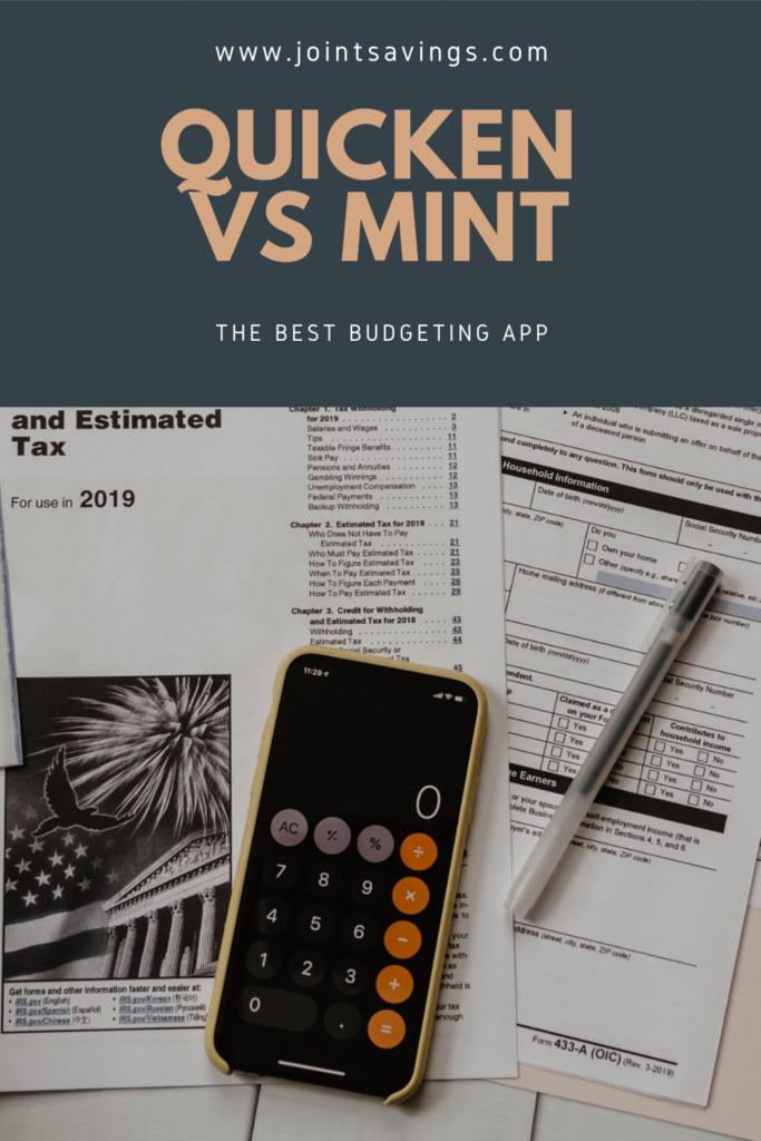 Quicken vs Mint comparison review