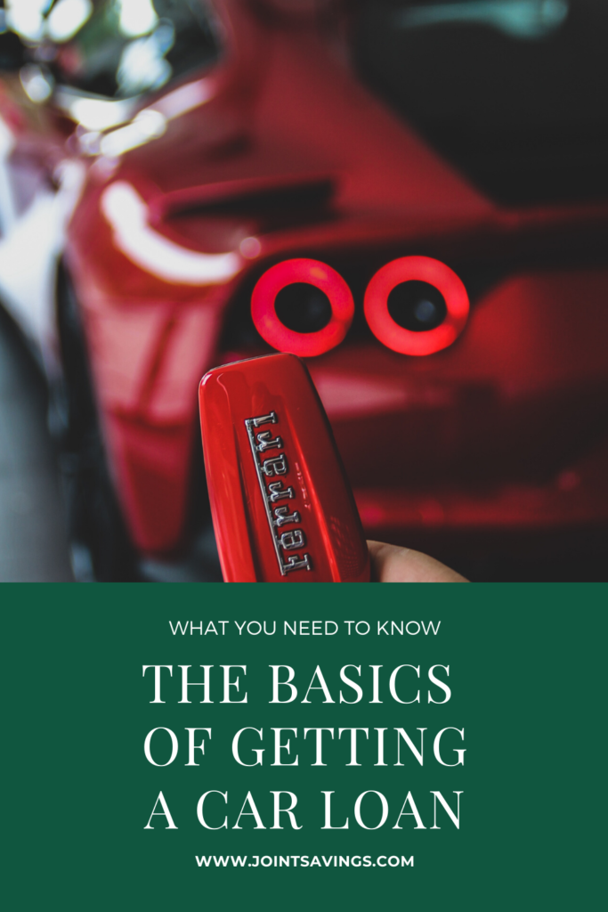 the basics of getting a car loan what you need to know