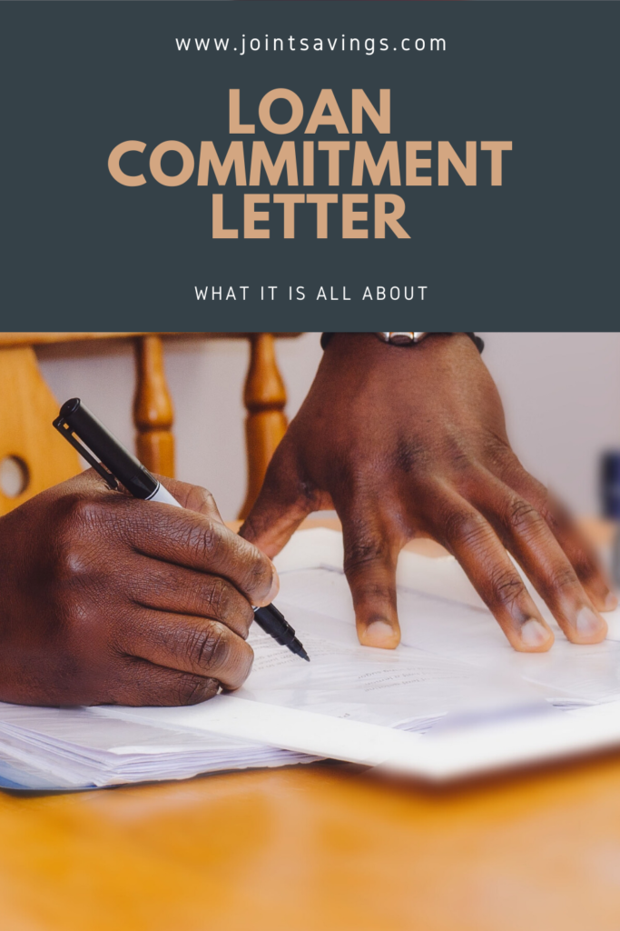 financial definition of commitment letter