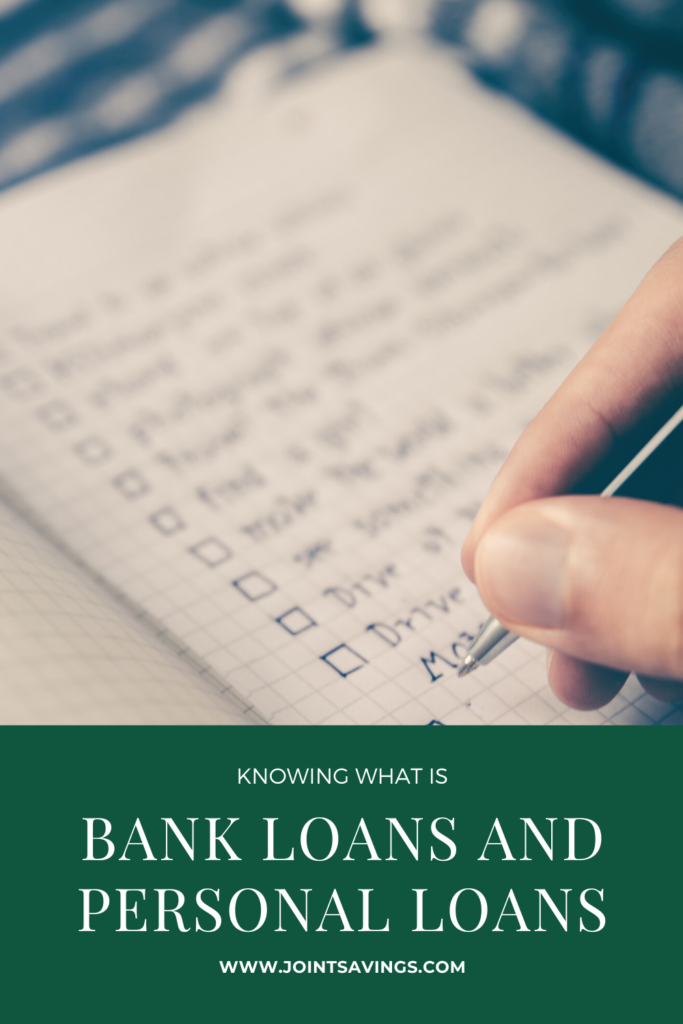 what you need to know about bank loans and personal loans