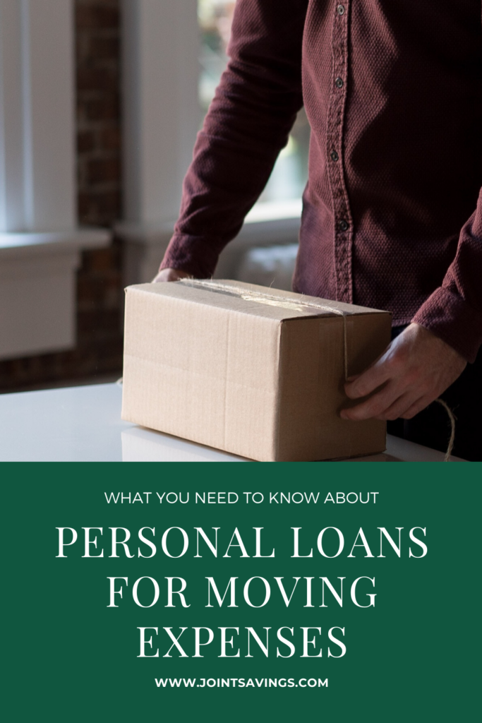 should you get a personal loan for moving expenses