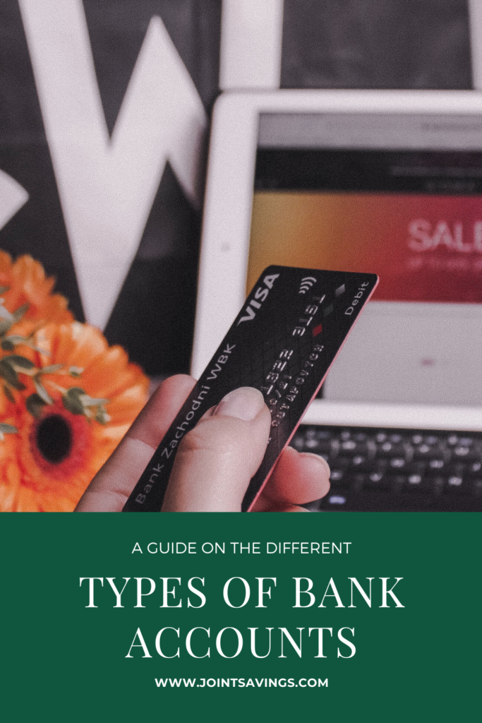 different types of bank accounts to choose from