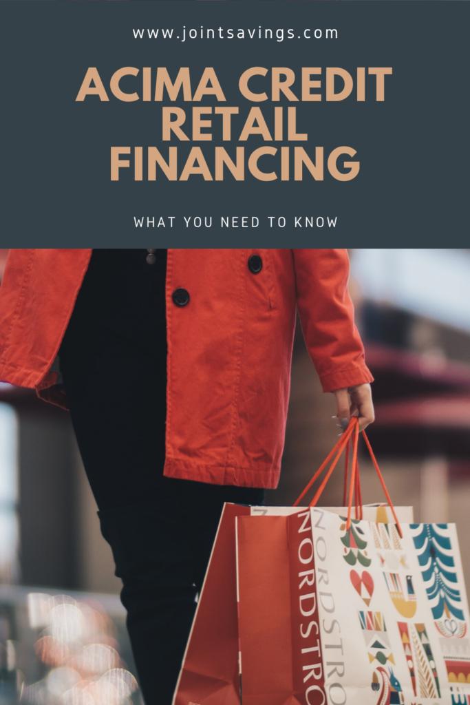 Acima Credit Retail Financing Review