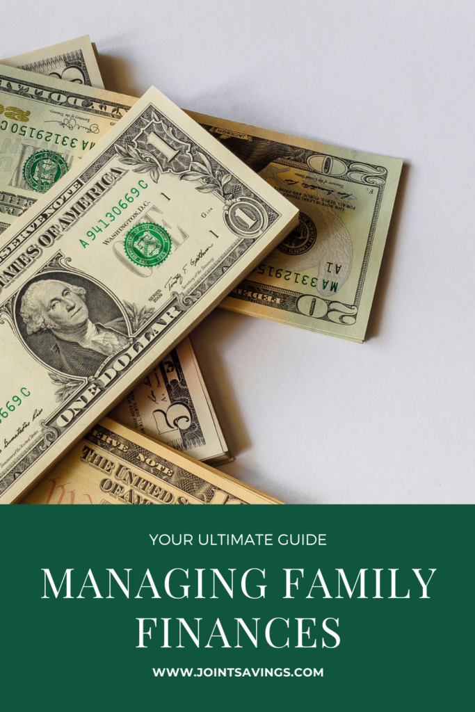 Guide in Managing Family Finances